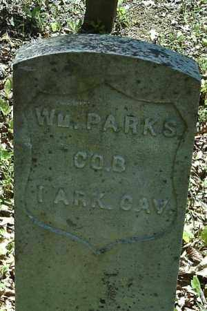 PARKS  (VETERAN UNION), WILLIAM - Searcy County, Arkansas | WILLIAM PARKS  (VETERAN UNION) - Arkansas Gravestone Photos