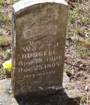 RUSSELL, BESSIE - Searcy County, Arkansas   BESSIE RUSSELL - Arkansas Gravestone Photos