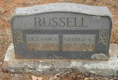 RUSSELL, GEORGE C - Searcy County, Arkansas | GEORGE C RUSSELL - Arkansas Gravestone Photos