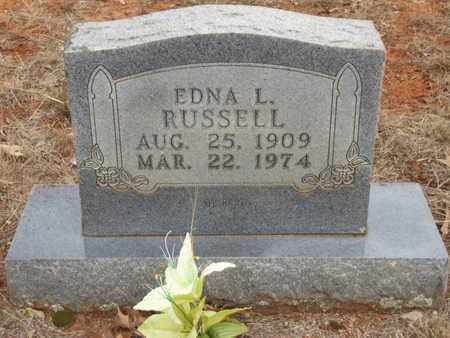RUSSELL, EDNA L - Searcy County, Arkansas | EDNA L RUSSELL - Arkansas Gravestone Photos