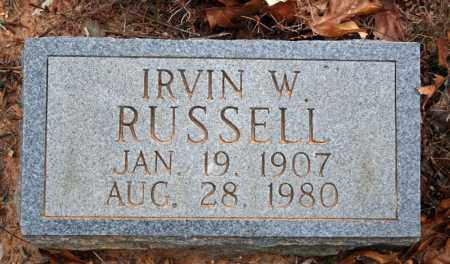 RUSSELL, IRVIN W. - Searcy County, Arkansas | IRVIN W. RUSSELL - Arkansas Gravestone Photos