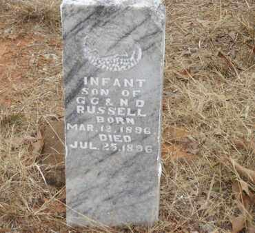 RUSSELL, INFANT - Searcy County, Arkansas | INFANT RUSSELL - Arkansas Gravestone Photos