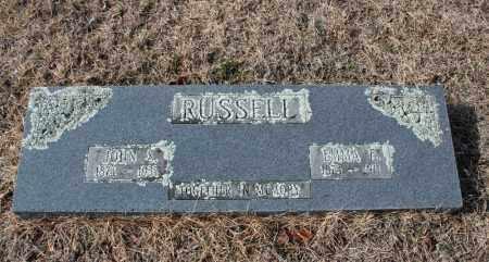 RUSSELL, EMMA E. - Searcy County, Arkansas | EMMA E. RUSSELL - Arkansas Gravestone Photos