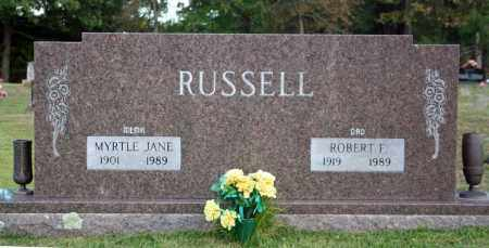 RUSSELL, ROBERT F. - Searcy County, Arkansas | ROBERT F. RUSSELL - Arkansas Gravestone Photos