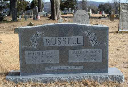 "RUSSELL, ROBERT MERRILL ""BOBBY"" - Searcy County, Arkansas 