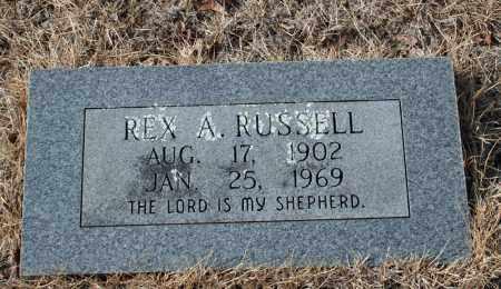 RUSSELL, REX A. - Searcy County, Arkansas   REX A. RUSSELL - Arkansas Gravestone Photos