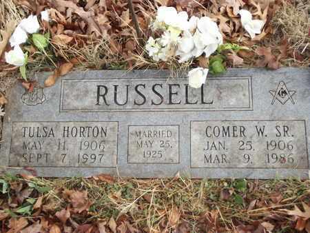 RUSSELL, TULSA - Searcy County, Arkansas | TULSA RUSSELL - Arkansas Gravestone Photos
