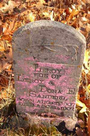 SANDERS, LEROY - Searcy County, Arkansas   LEROY SANDERS - Arkansas Gravestone Photos