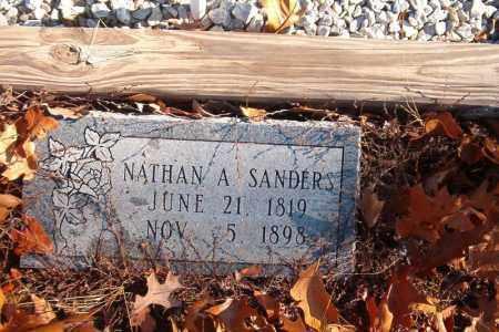SANDERS, NATHAN A. - Searcy County, Arkansas | NATHAN A. SANDERS - Arkansas Gravestone Photos