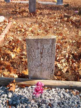 SANDERS, OLLIE - Searcy County, Arkansas   OLLIE SANDERS - Arkansas Gravestone Photos