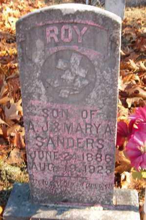 SANDERS, ROY - Searcy County, Arkansas | ROY SANDERS - Arkansas Gravestone Photos