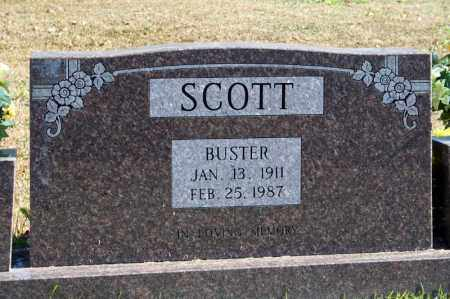 SCOTT, BUSTER - Searcy County, Arkansas   BUSTER SCOTT - Arkansas Gravestone Photos