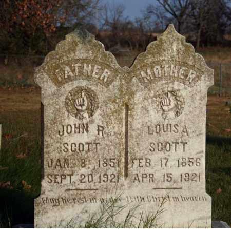SCOTT, LOUISA - Searcy County, Arkansas   LOUISA SCOTT - Arkansas Gravestone Photos