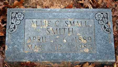 SMITH, ALLIE C. - Searcy County, Arkansas   ALLIE C. SMITH - Arkansas Gravestone Photos