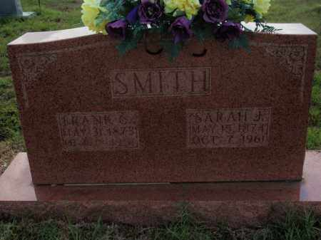 SMITH, SARAH J - Searcy County, Arkansas | SARAH J SMITH - Arkansas Gravestone Photos