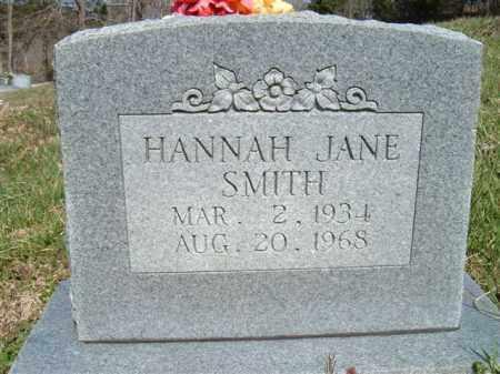 SMITH, HANNAH JANE - Searcy County, Arkansas | HANNAH JANE SMITH - Arkansas Gravestone Photos