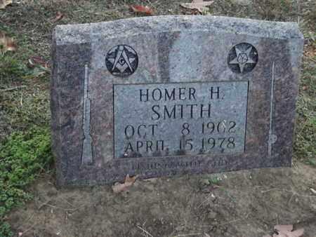 SMITH, HOMER H - Searcy County, Arkansas | HOMER H SMITH - Arkansas Gravestone Photos