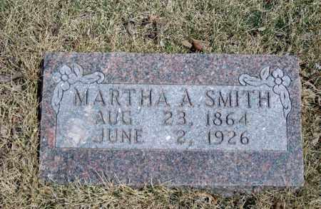 SMITH, MARTHA A. - Searcy County, Arkansas | MARTHA A. SMITH - Arkansas Gravestone Photos