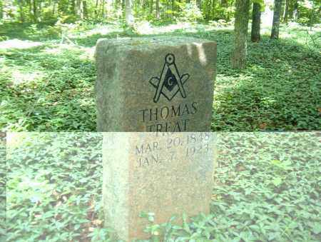 TREAT, THOMAS - Searcy County, Arkansas   THOMAS TREAT - Arkansas Gravestone Photos