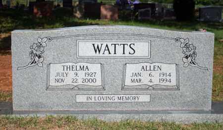 WATTS, ALLEN - Searcy County, Arkansas | ALLEN WATTS - Arkansas Gravestone Photos
