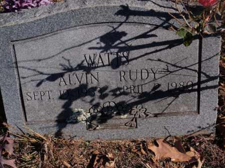 WATTS, ALVIN RUDY - Searcy County, Arkansas | ALVIN RUDY WATTS - Arkansas Gravestone Photos