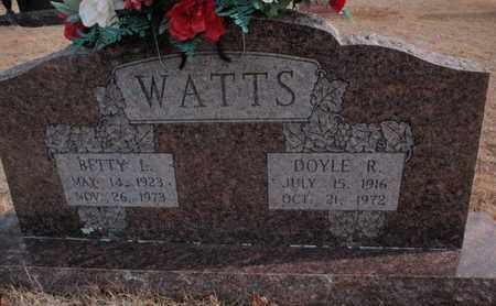 WATTS, BETTY L - Searcy County, Arkansas | BETTY L WATTS - Arkansas Gravestone Photos