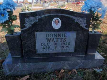 WATTS, DONNIE - Searcy County, Arkansas | DONNIE WATTS - Arkansas Gravestone Photos