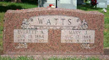 WATTS, MARY JOCIE - Searcy County, Arkansas   MARY JOCIE WATTS - Arkansas Gravestone Photos