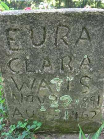 WATTS, EURA CLARA - Searcy County, Arkansas | EURA CLARA WATTS - Arkansas Gravestone Photos