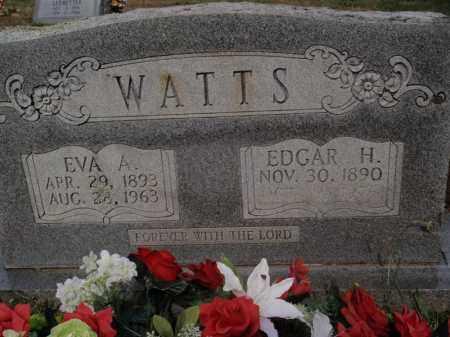 WATTS, EDGAR H - Searcy County, Arkansas | EDGAR H WATTS - Arkansas Gravestone Photos
