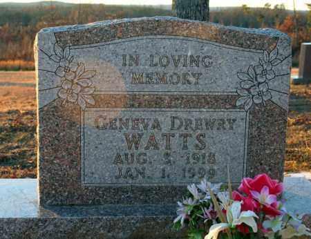WATTS, GENEVA - Searcy County, Arkansas | GENEVA WATTS - Arkansas Gravestone Photos
