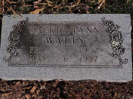 WATTS, JACKIE LYNN - Searcy County, Arkansas   JACKIE LYNN WATTS - Arkansas Gravestone Photos
