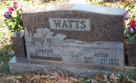 WATTS, JESSE - Searcy County, Arkansas   JESSE WATTS - Arkansas Gravestone Photos