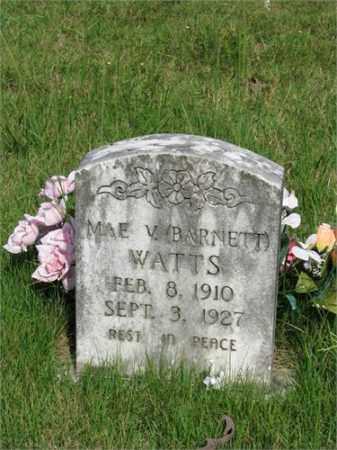 WATTS, MAE V. - Searcy County, Arkansas | MAE V. WATTS - Arkansas Gravestone Photos