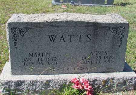 WATTS, AGNES - Searcy County, Arkansas   AGNES WATTS - Arkansas Gravestone Photos