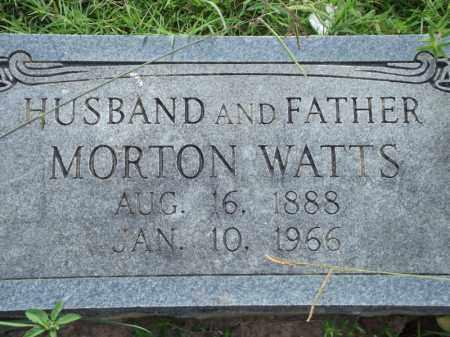 WATTS, MORTON - Searcy County, Arkansas | MORTON WATTS - Arkansas Gravestone Photos