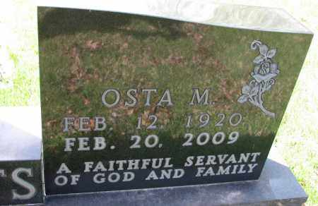 WATTS, OSTA M (CLOSE UP) - Searcy County, Arkansas | OSTA M (CLOSE UP) WATTS - Arkansas Gravestone Photos