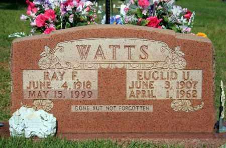 WATTS, RAY F. - Searcy County, Arkansas | RAY F. WATTS - Arkansas Gravestone Photos
