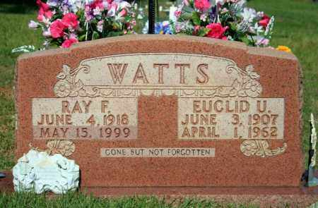 WATTS, EUCLID U. - Searcy County, Arkansas | EUCLID U. WATTS - Arkansas Gravestone Photos