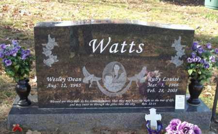 WATTS, RUBY LOUISE - Searcy County, Arkansas   RUBY LOUISE WATTS - Arkansas Gravestone Photos