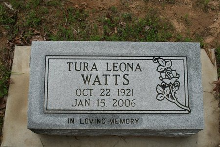 WATTS, TURA LEONA - Searcy County, Arkansas | TURA LEONA WATTS - Arkansas Gravestone Photos