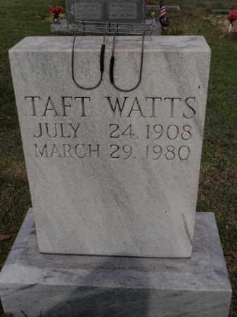 WATTS, TAFT - Searcy County, Arkansas | TAFT WATTS - Arkansas Gravestone Photos