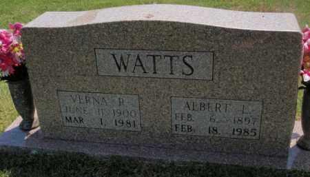 WATTS, VERNA R - Searcy County, Arkansas | VERNA R WATTS - Arkansas Gravestone Photos