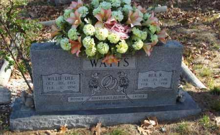 WATTS, WILLIE DEE - Searcy County, Arkansas | WILLIE DEE WATTS - Arkansas Gravestone Photos