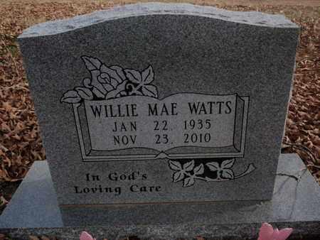 WATTS, WILLIE MAE - Searcy County, Arkansas   WILLIE MAE WATTS - Arkansas Gravestone Photos