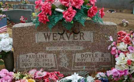 CLARK WEAVER, PAULINE - Searcy County, Arkansas | PAULINE CLARK WEAVER - Arkansas Gravestone Photos