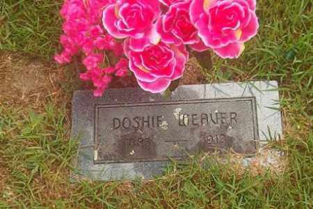 WEAVER, DOSHIE - Searcy County, Arkansas | DOSHIE WEAVER - Arkansas Gravestone Photos