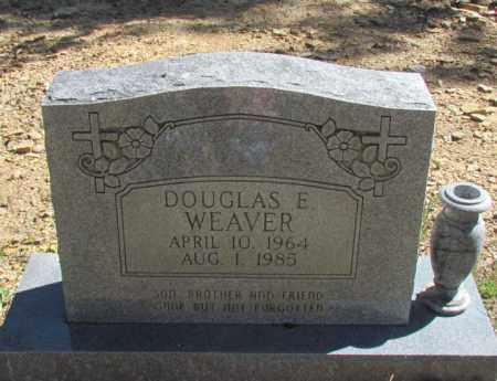 WEAVER, DOUGLAS E - Searcy County, Arkansas | DOUGLAS E WEAVER - Arkansas Gravestone Photos