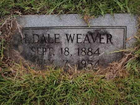 WEAVER, H DALE - Searcy County, Arkansas | H DALE WEAVER - Arkansas Gravestone Photos