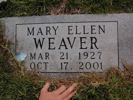 WEAVER, MARY ELLEN - Searcy County, Arkansas | MARY ELLEN WEAVER - Arkansas Gravestone Photos